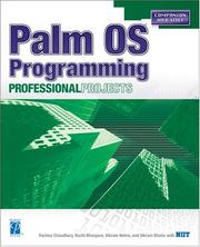 Cover of: Palm OS Programming Professional Projects | Vikram Bhatia