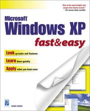 Cover of: Windows XP Fast & Easy (Fast & Easy (Premier Press))