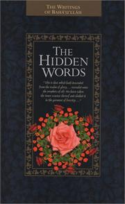 Cover of: The Hidden Words
