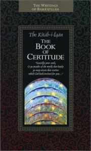 Cover of: The Kitab-i-Iqan Book of Certitude