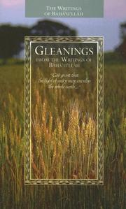 Cover of: Gleanings from the Writings of Baha'u'llah