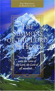 Cover of: The Summons of the Lord of Hosts