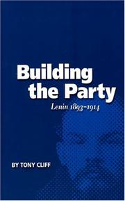 Cover of: Building the Party