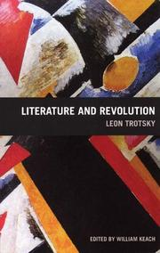 Cover of: Literature and revolution