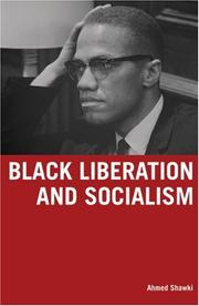 Cover of: Black Liberation And Socialism