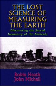 Cover of: The Lost Science of Measuring the Earth | Robin Heath