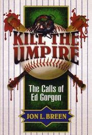 Cover of: Kill the umpire