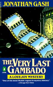 Cover of: The Very Last Gambado (Lovejoy Mystery)