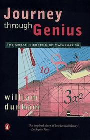 Journey through genius by William Dunham