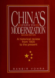Cover of: China's path to modernization | Ranbir Vohra