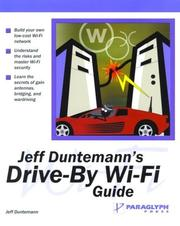 Cover of: Jeff Duntemann's Drive-By Wi-Fi Guide