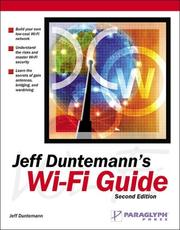 Cover of: Jeff Duntemann's Wi-Fi Guide