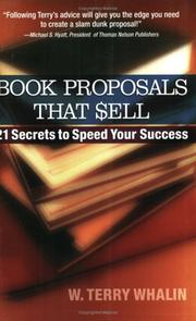 Cover of: Book Proposals That Sell