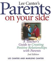 Cover of: Parents On Your Side | Lee Canter