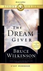 Cover of: The DreamGiver Study Workbook | Bruce Wilkinson