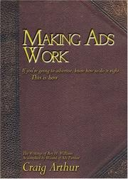 Cover of: Making Ads Work | Craig Arthur