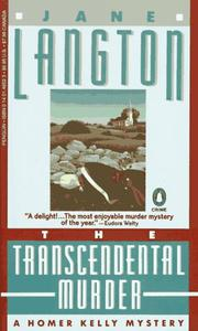 Cover of: The Transcendental Murder | Jane Langton
