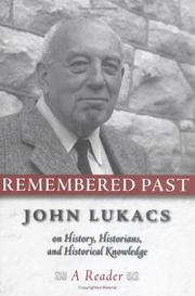Cover of: Remembered past
