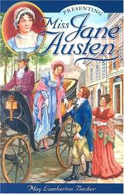 Presenting Miss Jane Austen by May Lamberton Becker