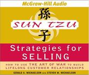 Cover of: Sun Tzu Strategies for Selling | Gerald A. Michaelson