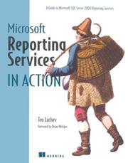 Cover of: Microsoft Reporting Services in Action (In Action series) | Teo Lachev