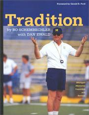 Tradition by Bo Schembechler
