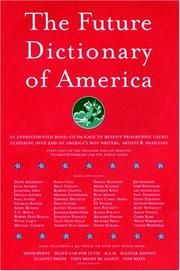 Cover of: The Future Dictionary of America