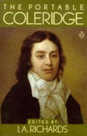 Cover of: The portable Coleridge