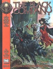 Cover of: The black company campaign setting