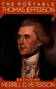 Cover of: The portable Thomas Jefferson
