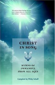 Christ in song by Philip Schaff