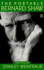 Cover of: The portable Bernard Shaw
