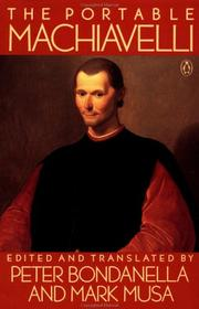 Cover of: The portable Machiavelli