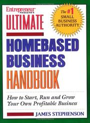 Cover of: Ultimate Homebased Business Handbook | James Stephenson