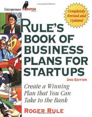 Cover of: Rule's book of business plans II