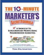 Cover of: The 10 Minute Marketer