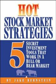 Cover of: Hot stock market strategies