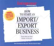 Cover of: How to Start an Import/Export Business (Entrepreneur Magazine