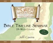 Cover of: Great Adventure Bible Timeline 24 week cd's