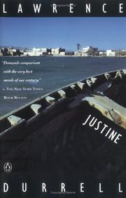 Cover of: Justine (Alexandria Quartet)