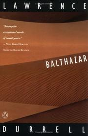 Balthazar by Lawrence Durrell