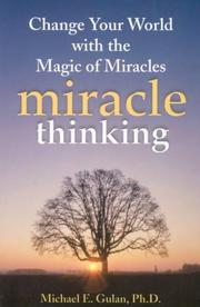 Cover of: Miracle Thinking | Michael E Gulan