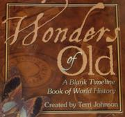 Cover of: Wonders of Old | Terri Johnson