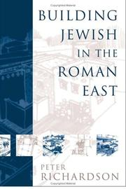 Cover of: Building Jewish In The Roman East