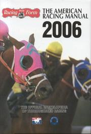 Cover of: The American Racing Manual 2006