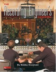 Cover of: Recording Engineer's Handbook