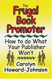 Cover of: The Frugal Book Promoter