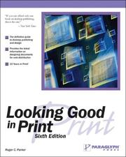 Cover of: Looking Good in Print