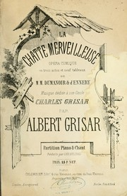 Cover of: La chatte merveilleuse | Albert Grisar
