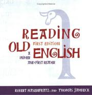 Reading Old English by robert hasenfratz, Thomas Jambeck